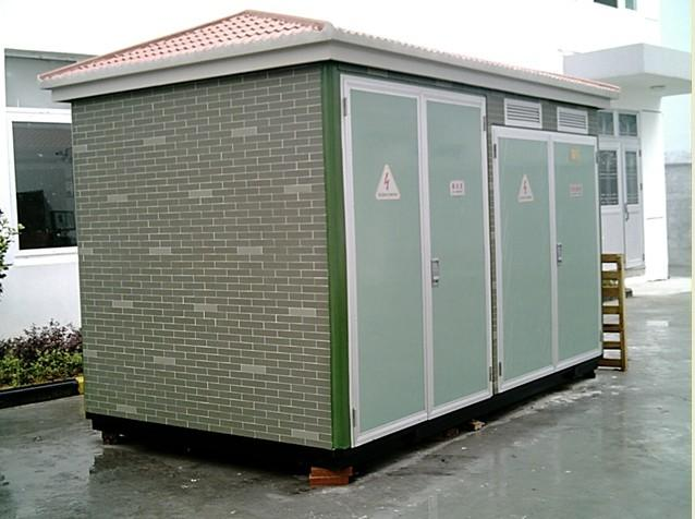欧式环保型变电站